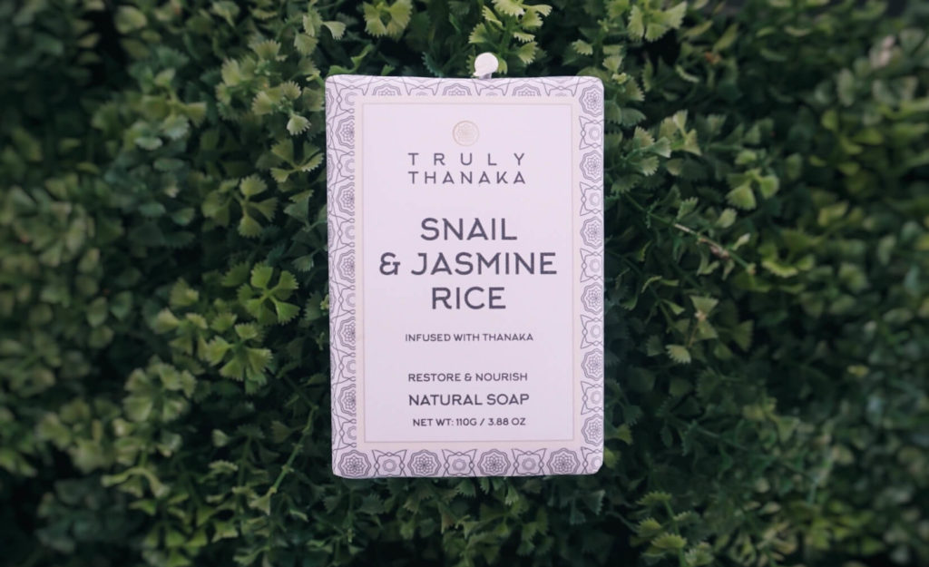 Snail Soap, Jasmine Rice Soap, Thanaka Soap, Natural Soap, NO SLS, NO SLES, Pure Soap, 100% Natural Soap, Snail Slime Soap, Snail Soap USA, Snail Soap UK, Snail and Jasmine Rice, Truly Thanaka,