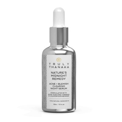Thanaka Serum, Truly Thanaka Serum, Thanaka, Thanaka Powder, Thanaka USA, Thanaka U.S, Natural Serum, Natural Skincare, Natures Midnight Remedy, Acne Blemish Clearing Night Serum, Night Serum, Thanaka Night Serum, Superfood Berries, Super berry, Anti Acne Serum, Anti Aging Serum,
