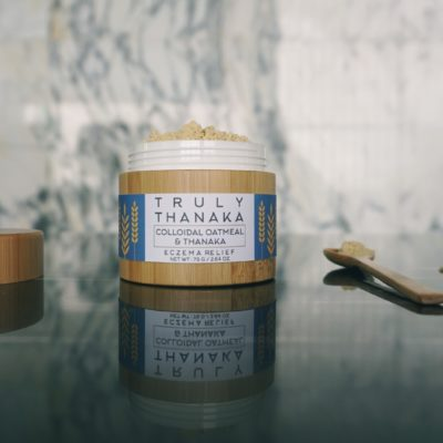 "eczema ""eczema relief"" thanka ""truly thanaka"" ""colloidal oatmeal"" ""oats eczema"" ""oats thanaka"" natural"